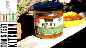 Texas Brew Fire Roasted Kale Salsa