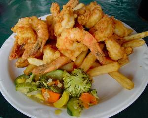Beer Batter Fried Shrimp