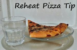 Pizza Reheat Microwave Tip