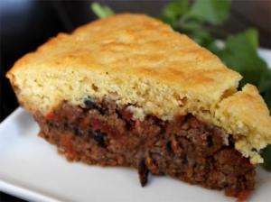 Beef And Cornmeal Tamale Pie