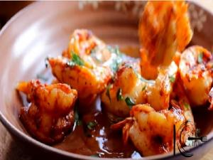 Grilled Shrimp With Hot N Sour Sauce