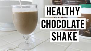 Healthy Chocolate Shake Recipe