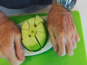 How To Core And Dice An Apple