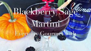 Cocktail Recipe Blackberry Sage Martini 1018716 By C 4 Bimbos