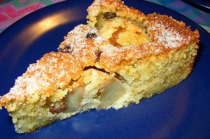 Apple Kuchen With Raisins