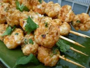 Grilled Prawn Skewers Recipe