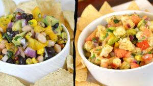 Shrimp Salsa Recipe Black And White Bean Salsa Recipe 1016961 By Cookingwithcarolyn