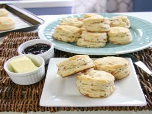 Buttermilk Bacon Biscuits