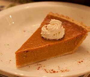 Frozen Pumpkin Pie