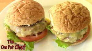 Turkey Burgers One Pot Chef