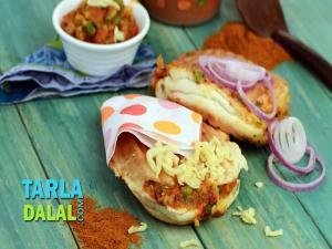 Pav Bhaji Burger