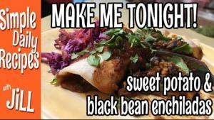 Bean Enchiladas