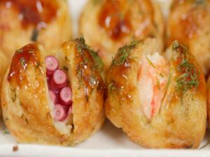 Takoyaki And Ebiyaki Recipe