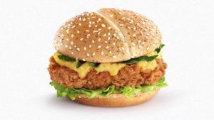 Mcdonalds Launches Unique Fried Chicken Burger 1016978 By Buzz 60