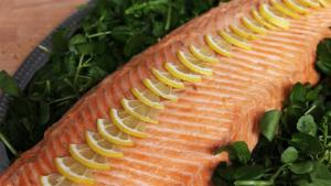 Poached Whole Salmon Recipe 1006455 By Videojug