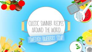 Classic Summer Recipes Swedish Blueberry Soup 1015319 By Zoomintv