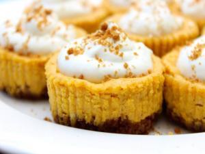 How To Make Mini Pumpkin Cheesecake