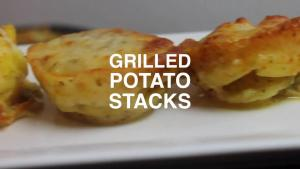 Grilled Potato Stacks 1016166 By 0815 Bbq