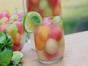 Melon Ball Punch Recipe