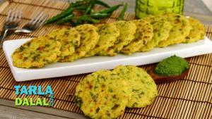 Rice And Besan Pancake