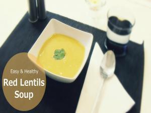 Super Easy Delicious Red Lentils Soup