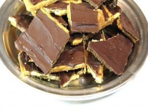 Caramel Chocolate Crack