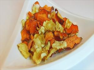 Dehydrated Parsnips And Sweet Potatoes