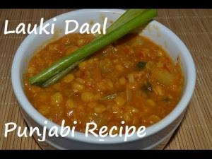 Lauki Wali Daal Gheeya Daal Punjabi Recipe Of Bottle Gourd 1014886 By Chawlaskitchen
