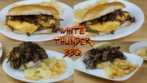 Philly Cheesesteak Threeway The Best Cheesesteak Recipes 1017104 By Whitethunderbbq