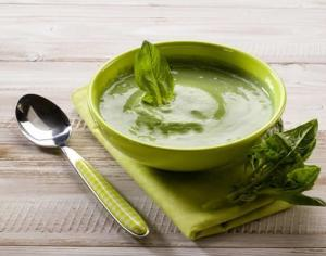 Raw Savory Basil Soup