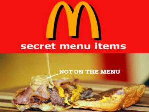 O Secret Menu Facebook