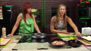 Sicilian Bean Salad Stuffed Pancake And Orange Strawberry Salad 1018065 By Thefoodchannel
