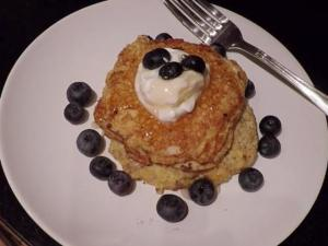 How To Make Low Calorie Flourless Pancakes