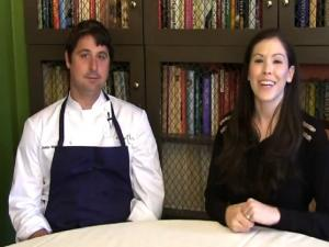 Justin Walker At The James Beard House