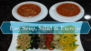 Easy Soup And Salad Exercise Featuring Giveaway 1017840 By Diybody