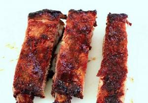 Barbecued Spareribs Western Style