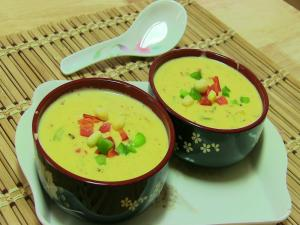 Cheesy Corn Soup