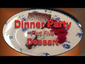 Dinner Party Menu Part 5 Dessertchocolate Cake 1015105 By Bettyskitchenfare