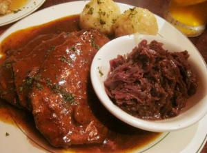 Sauerbraten German Pot Roast