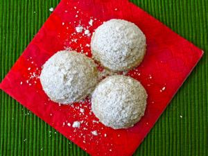 Cinnamon Mexican Wedding Cookies