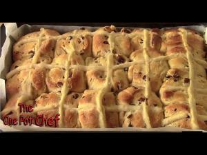 Easter Hot Cross Buns One Pot Chef