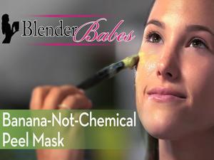 Banana Not Chemical Peel Mask
