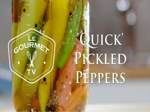 Quick Pickled Hot Peppers Recipe