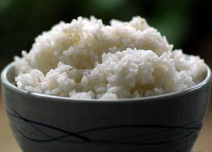 Simple Steamed Rice