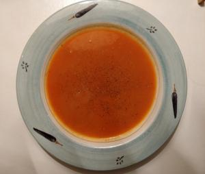 Spiced Homemade Tomato Soup