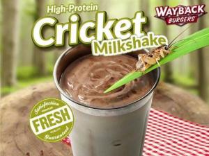 Would You Drink A Cricket Milkshake