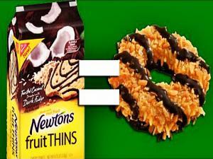Healthier Caramel Delites Girl Scout Cookies