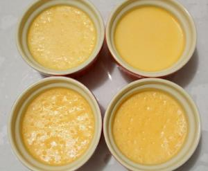 Cinnamon Orange Pudding