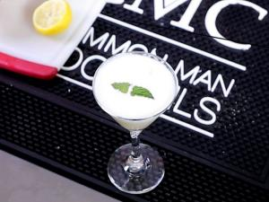 Southern Belle Cocktail With Egg White