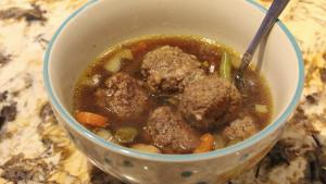 Soup Meatball Soup With Vegetables 1019967 By Cherylshomecooking